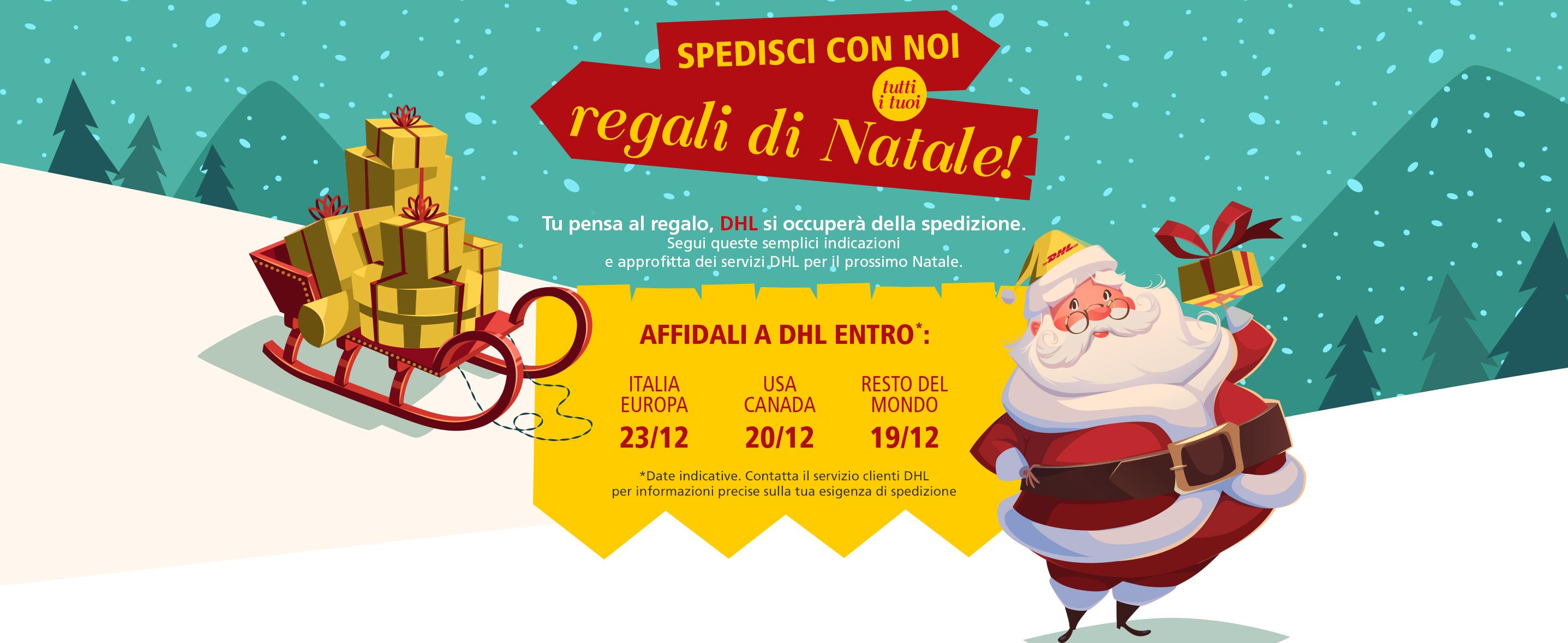 Spedisci con noi tutti i tuoi regali di Natale!